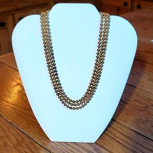 Jewelry - Goldtone 16 inch choker style necklace